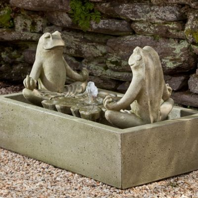 Zen Frog Fountain Frontgate