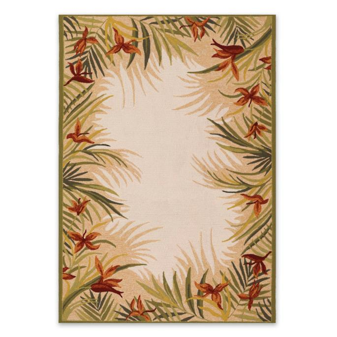 Tropical Palm Outdoor Rug Frontgate