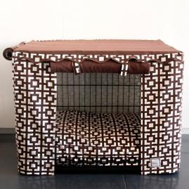 Lattice Pet Crate Cover