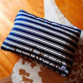 Nautical Stripe Pet Crate Cover
