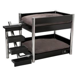 Black Metropolitan Double Pet Bed