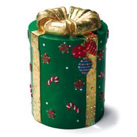 Green Fiber-optic Gift Box