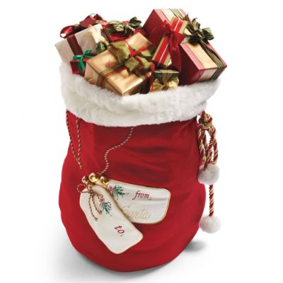 Personalized Large Santa Bag Frontgate