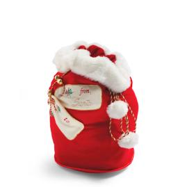 Personalized Small Santa Bag
