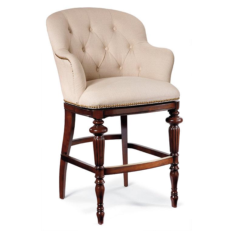 Upholstered Bar Stool Frontgate : 61860BARmainwfpm from www.frontgate.com size 761 x 761 jpeg 62kB