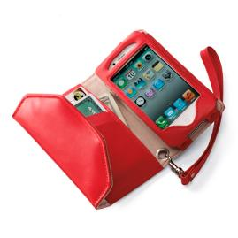 Italian Leather iPhone 3/4/4S Wristlet
