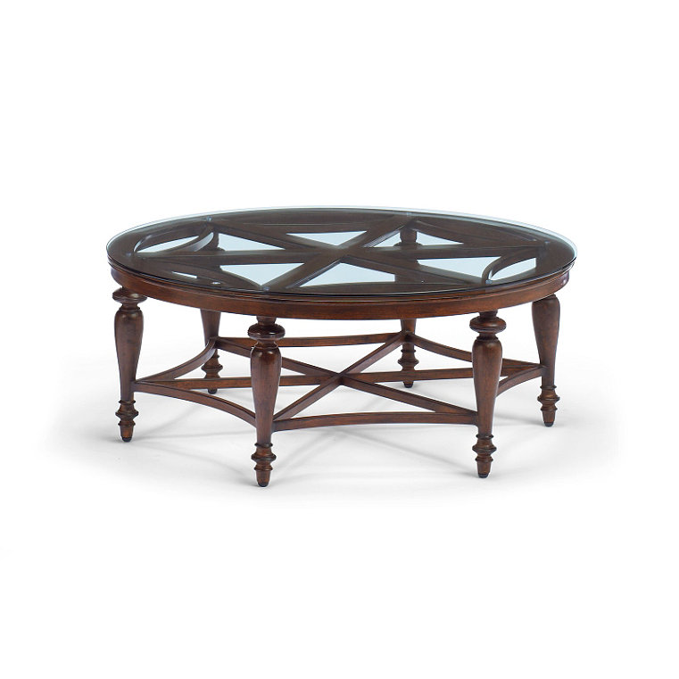 Tempered Glass Top Coffee Table Frontgate