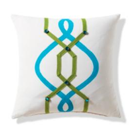 Graphic Jewels Outdoor Pillow