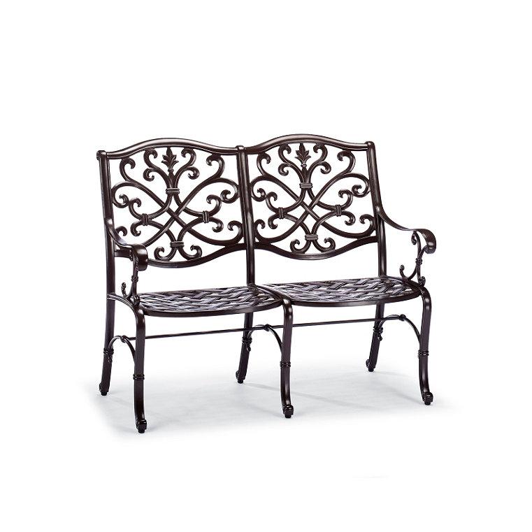 Cast aluminum rust resistant furniture frontgate for Furniture 63385