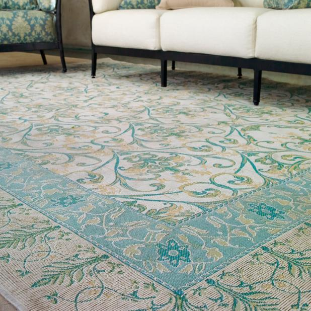 Gabriel Tapestry Outdoor Rug Frontgate