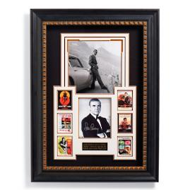 James Bond Autographed Display