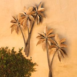 Palm Tree Triptych Frontgate