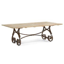 Maison Jardin Rectangular Trestle Dining Table