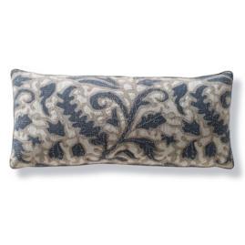 Laguna Beaded Outdoor Lumbar Pillow