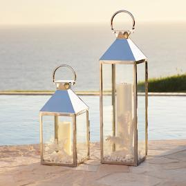 Galveston Stainless Steel Lantern