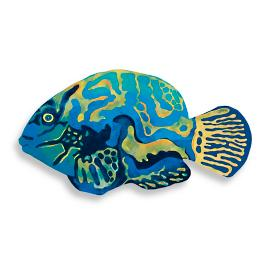 Mandarin Fish Mat