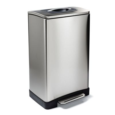 Stainless steel manual trash compactor frontgate Garbage compactor