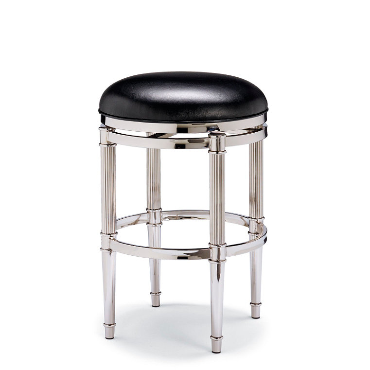 Leather Counter Height Stool Frontgate
