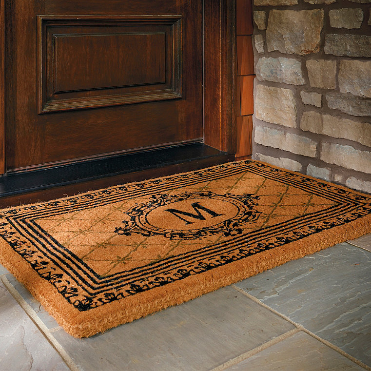 coir outdoor door mat frontgate. Black Bedroom Furniture Sets. Home Design Ideas