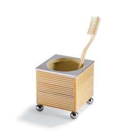 Sugarcane Square Toothbrush Holder
