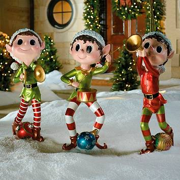 Outdoor christmas decor outdoor christmas displays for Outdoor christmas figures