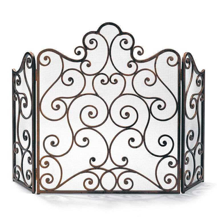 hand forged fireplace screen. Hand Forged Iron Fireplace Screen Frontgate  Items Similar To