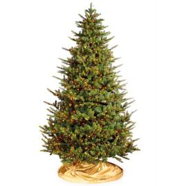 Designer Lit Mountain Spruce Christmas Tree with FlipTree