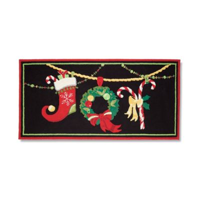 Christmas Joy Entry Mat Frontgate