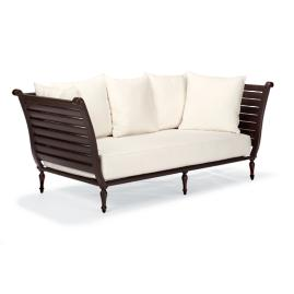 British Colonial Daybed with Cushions