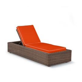 Hyde Park Chaise Lounge with Cushions