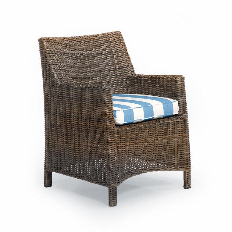 Modern Wicker Chair Frontgate