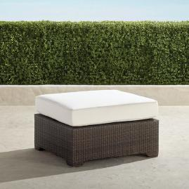 Palermo Ottoman with Cushion in Bronze Finish
