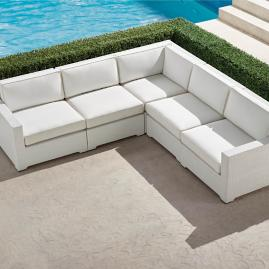 Palermo 5-pc. Modular Set in White Finish