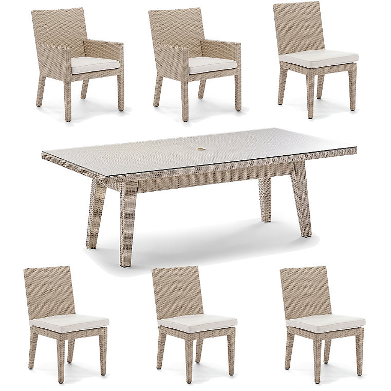 Sturdy Weathered Dining Room Furniture