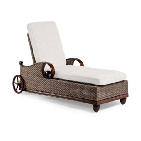 St Martin Chaise Lounge With Cushions Frontgate