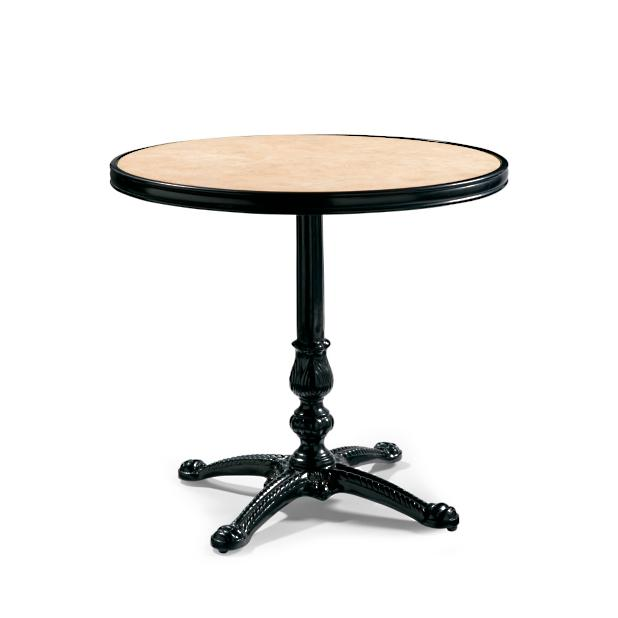 Marble Bistro Accent Table: Paris Round Marble Bistro Table