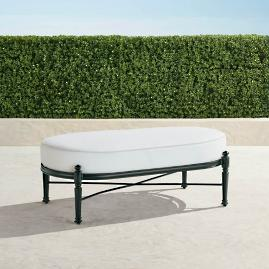 Carlisle Oversized Cuddle Lounge Ottoman in Onyx Finish