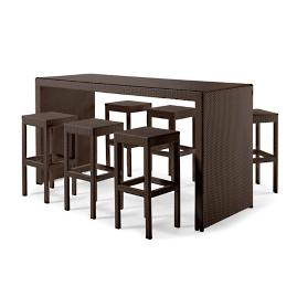 Palermo 7-pc. Bar Set in Bronze Finish
