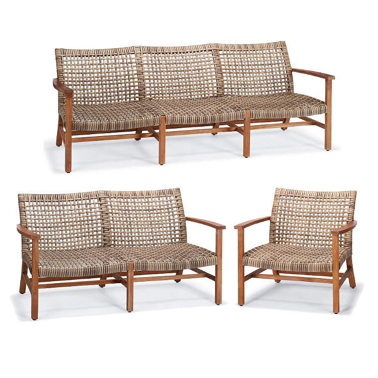 Curved Wicker Outdoor Furniture Frontgate