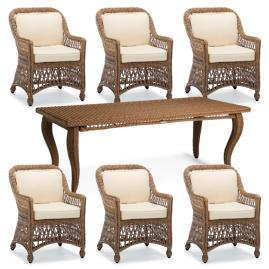 Hampton 7-pc. Rectangular Dining Set