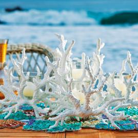 Coral Candelabra