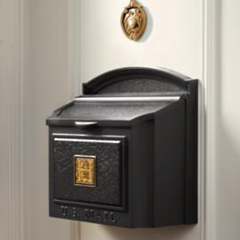 Monogrammed Wall-mount Mailbox