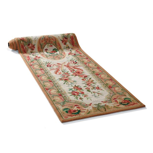 Rooster Hand-Hooked Wool Runner