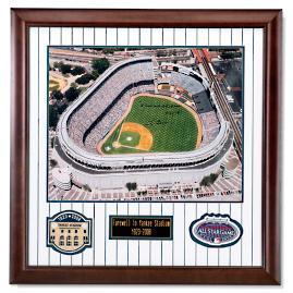 Autographed Yankee Stadium Print