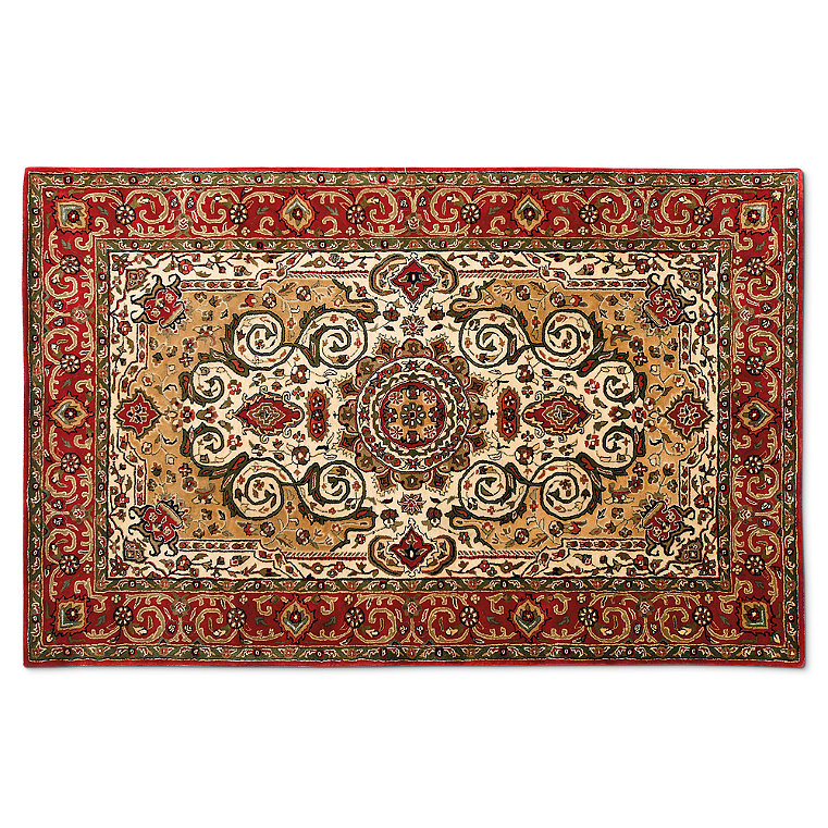 Wool Cotton Backing Rug Frontgate
