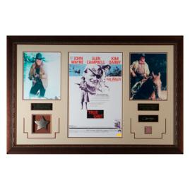 John Wayne 'True Grit' Framed Collage