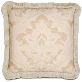 Brookfield Brushed Fringe Pillow