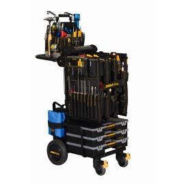 Complete 230-piece Mobile-Shop Tool Cart