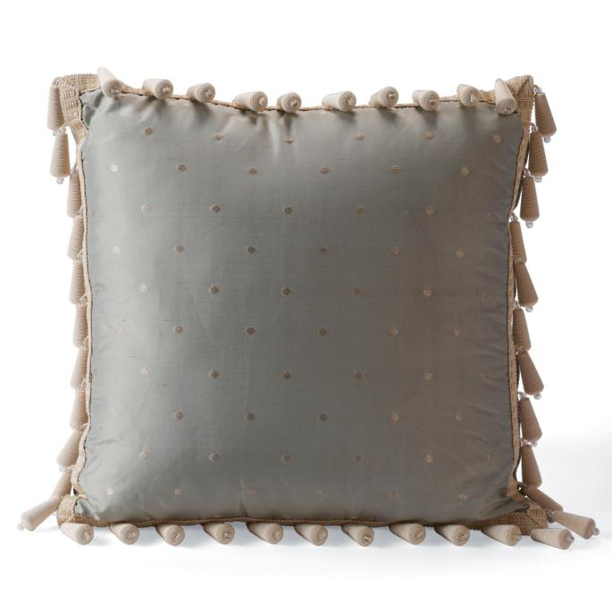 Bead Trim Decorative Pillow - Frontgate