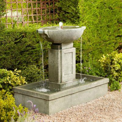Brielle Cast Stone Fountain Frontgate